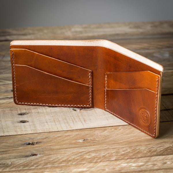 Image showing The Levee, a handmade leather wallet from Colville Leather