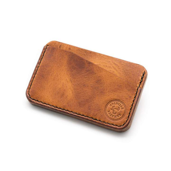 Handmade leather wallet - The Runnel from Colville Leather
