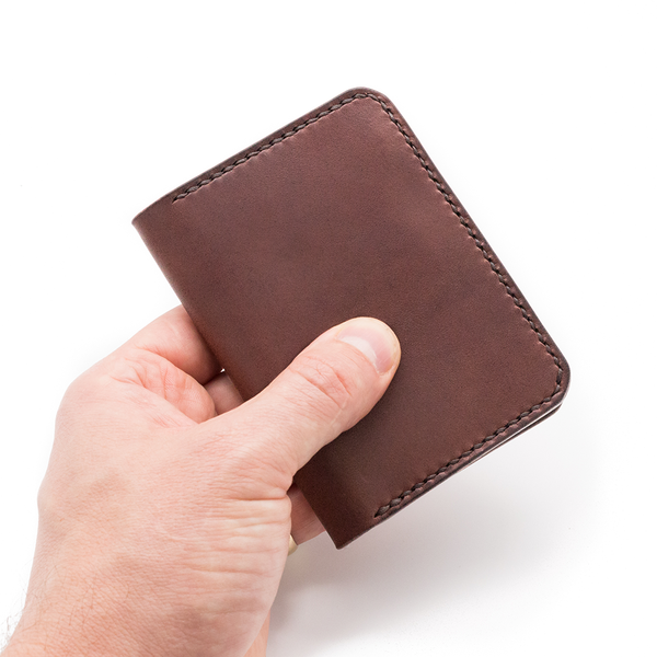 Image of the Clifford wallet from Colville Leather's men's leather accessories collection