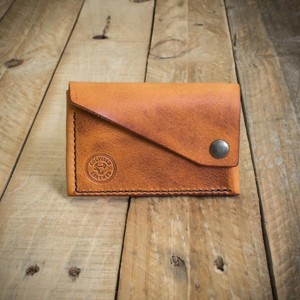Image showing Colville Leather's handcrafted leather wallet The Cove