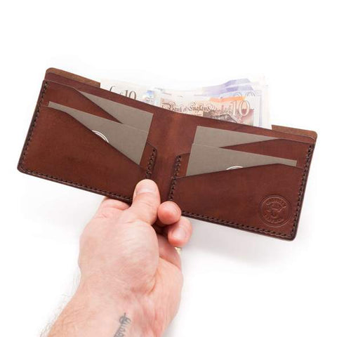 Levee bi-fold wallet from Colville Leather