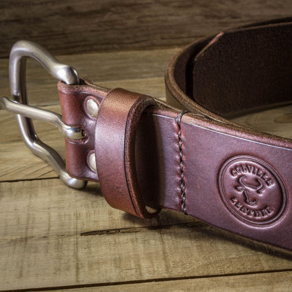 Image of Colville Leather handcrafted belt