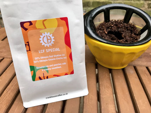 image of a bag of Crankhouse Coffee beans