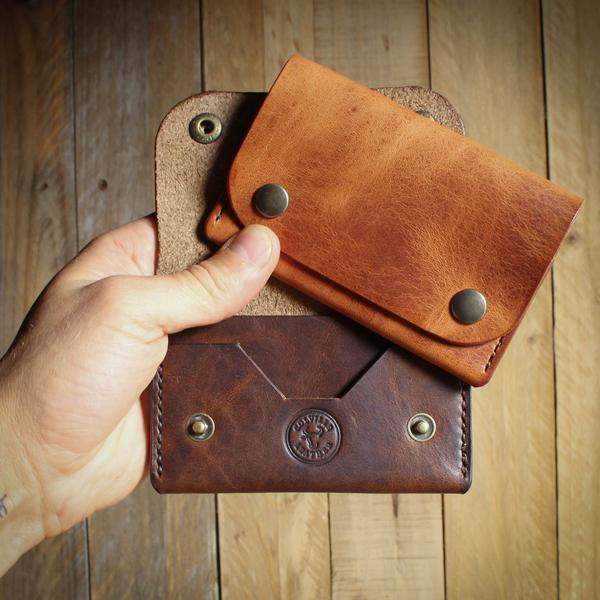 The Delta handmade leather wallet from Colville Leather