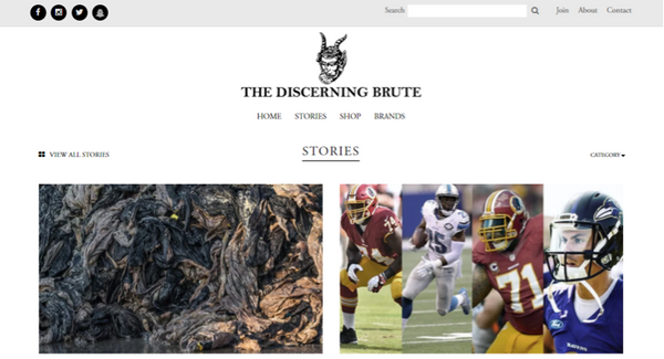 discerning brute sustainable fashion blog for men