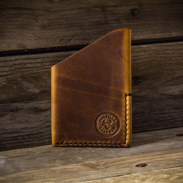 image showing a groomsmen gift, the Ebb wallet from Colville Leather
