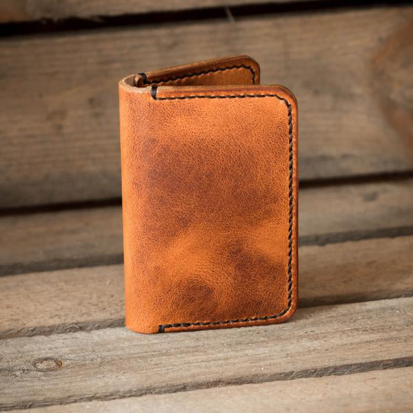 The Eddy - handcrafted leather wallet from Colville Leather