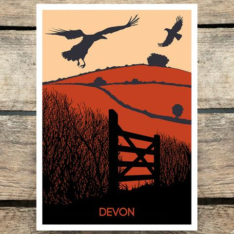Image showing 'Devon' print from Leela