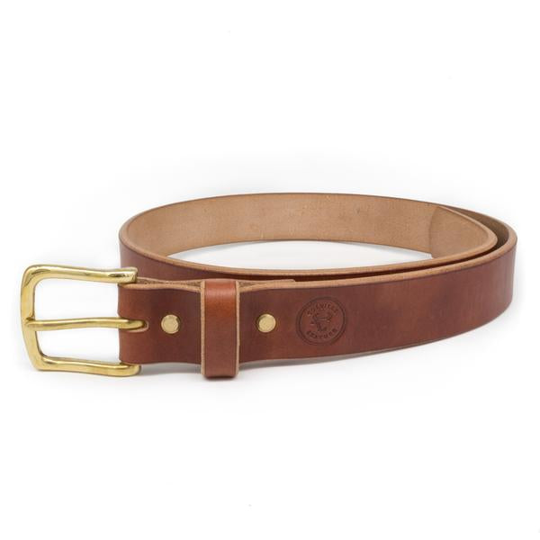image of oak bark belt by Colville Leather