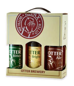 Image of Otter Brewery gift set