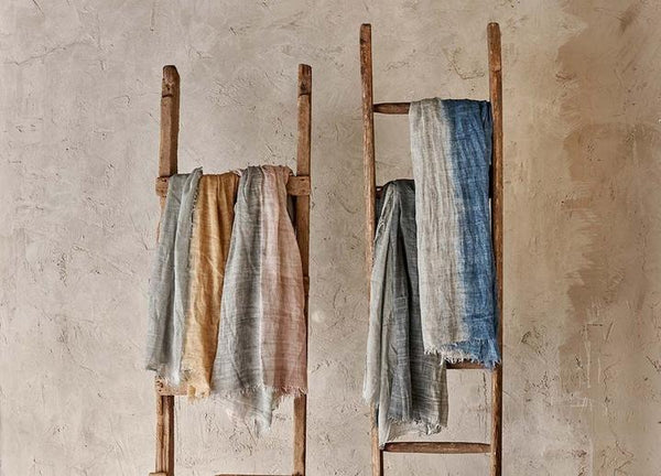 scarves by uk artisan brand nkuku