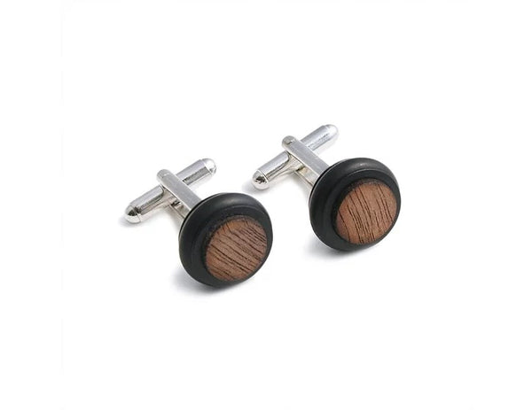 cufflinks by uk artisan fashion brand industrial jewellery