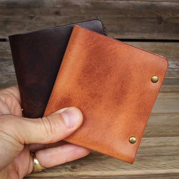 image showing the Longshore Leather Wallet by Colville Leather