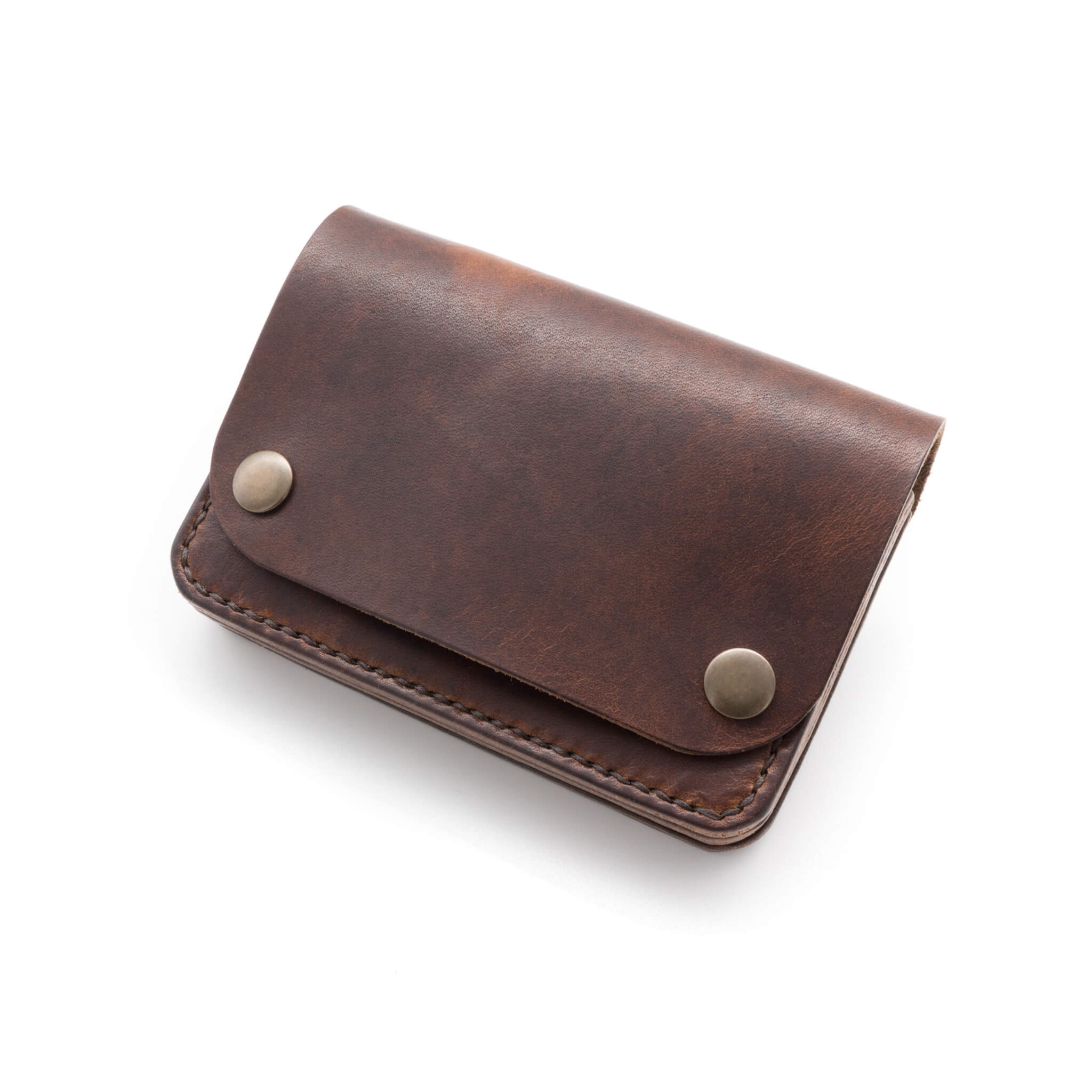 Leather purse in Horween leather