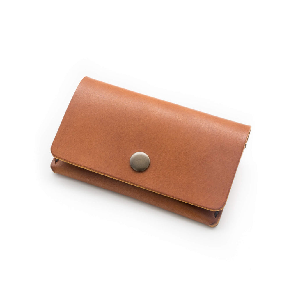 Minimalist wallet hand made in Devon