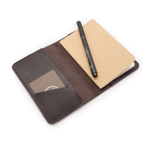 Moleskine leather notebook cover
