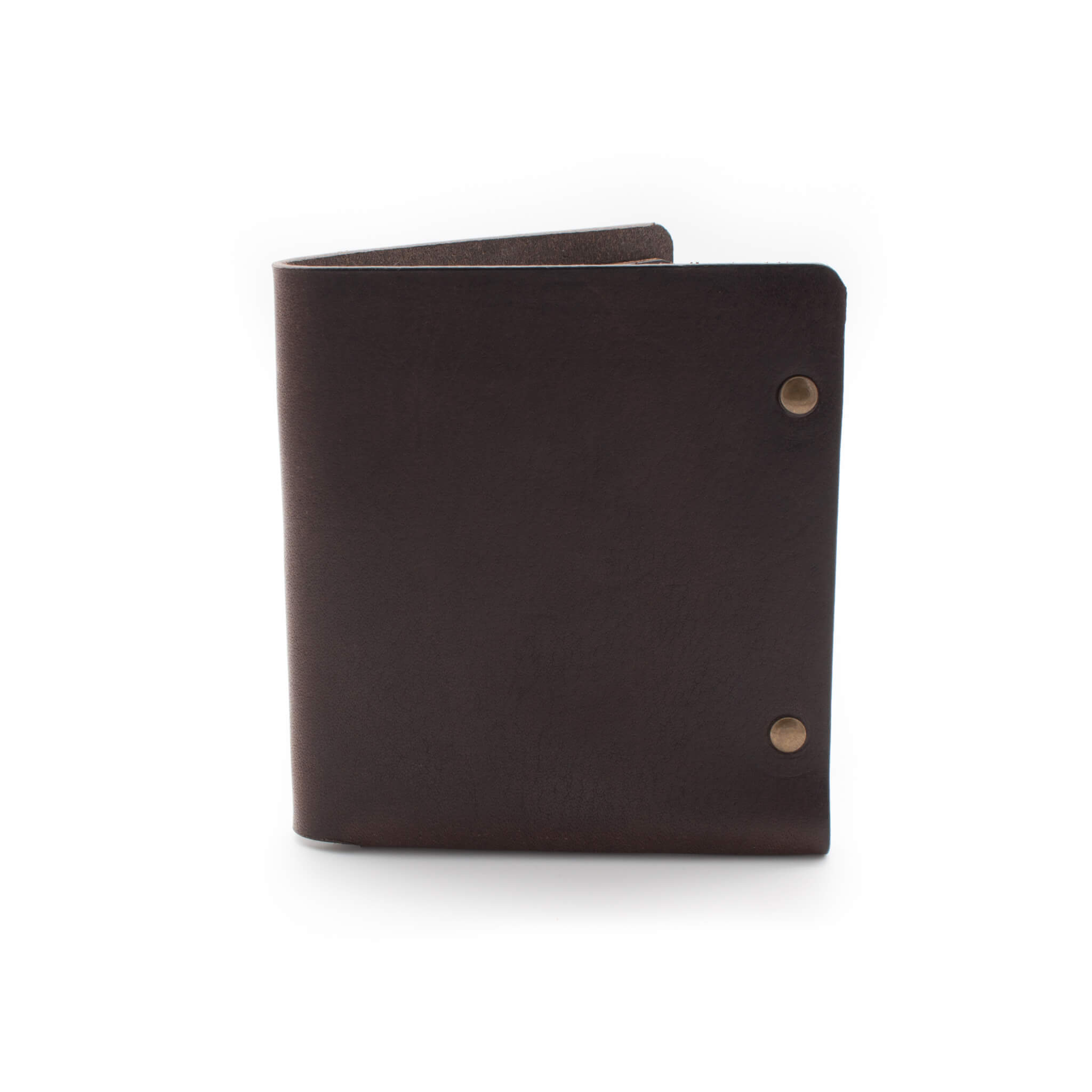 Devon made leather bifold wallet