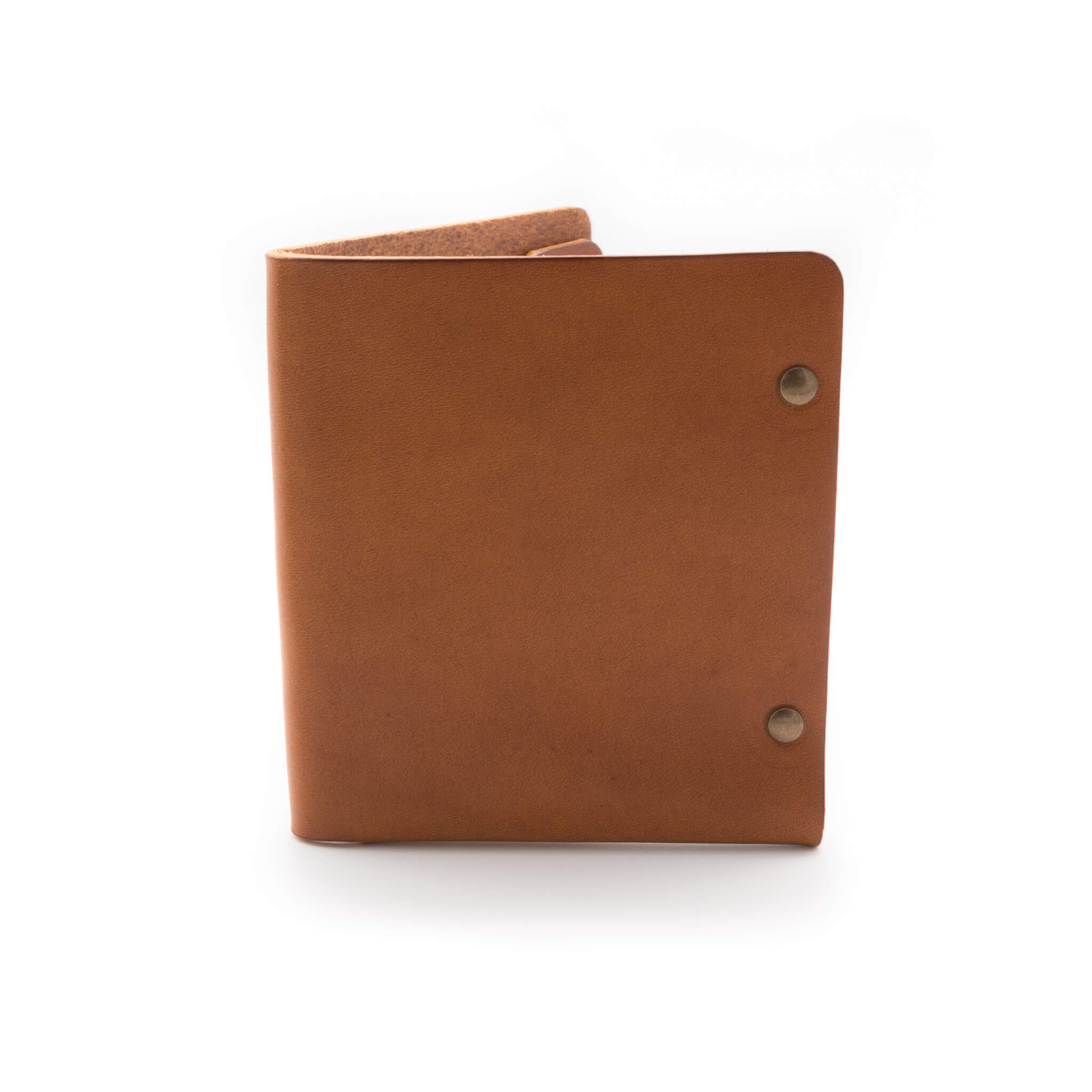 Tan colour leather wallet