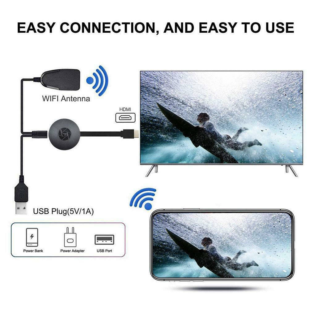 TV Stick for Chromecast Mirror Screen Airplay