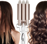 Curling Hair Styler Ceramic Triple Barrel Waver Styling Professional Iron Tool
