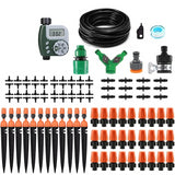 Automatic Micro Drip Irrigation System Garden Spray Self Watering Kits with Adjustable Dripper