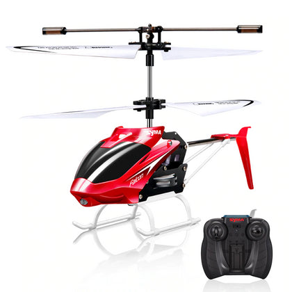 RC Helicopter 2 CH 2 Channel Mini RC Drone With Gyro Crash Resistant - JustgreenBox