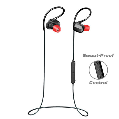TRITINA Runner X Bluetooth Earphone - Sport Headphones with MIC - Designed Noise Cancelling Sport Earphone for iPhone,Smartphone + Comfortable Memory Earbuds Stereo Sound,Running,Jogging,Riding