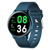 Smartwatch Heart Rate Blood Pressure O2 Monitor Weather Push Music Camera Control Brightness Adjust Fitness Tracker Smart Watch - JustgreenBox