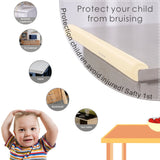 Akisor Corner Guards and Edge Bumpers - 2.2m / 7ft [ 6.5ft Edge Cushion + 4 Corner Cushion] Premium Childproofing Protector, Child Safety, Home Safety Mamami - JustgreenBox