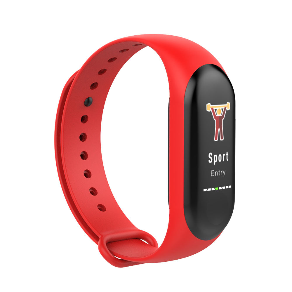 0.96inch Multi-sport Band Heart Rate Blood Pressure Oxygen Intelligent Remind Smart Watch