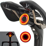 Waterproof Smart Bike Tail Brake Sensing Light USB Rechargeable