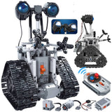 Electric Robot Building Blocks Technic Remote Control Intelligent Bricks Toys (Without box)