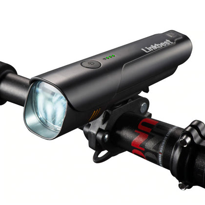 USB Rechargeable Bike Light with Near Range Beam - JustgreenBox