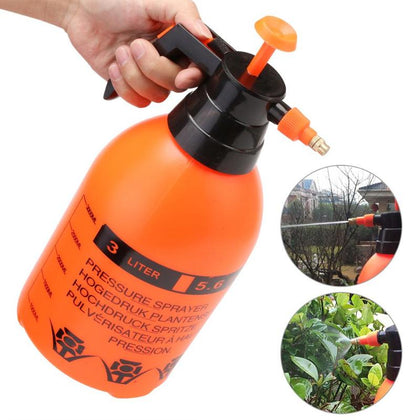 Garden Pressure Trigger Sprayer Bottle Adjustable Copper Nozzle Head Manual Air Compression Pump Spray Tool - JustgreenBox