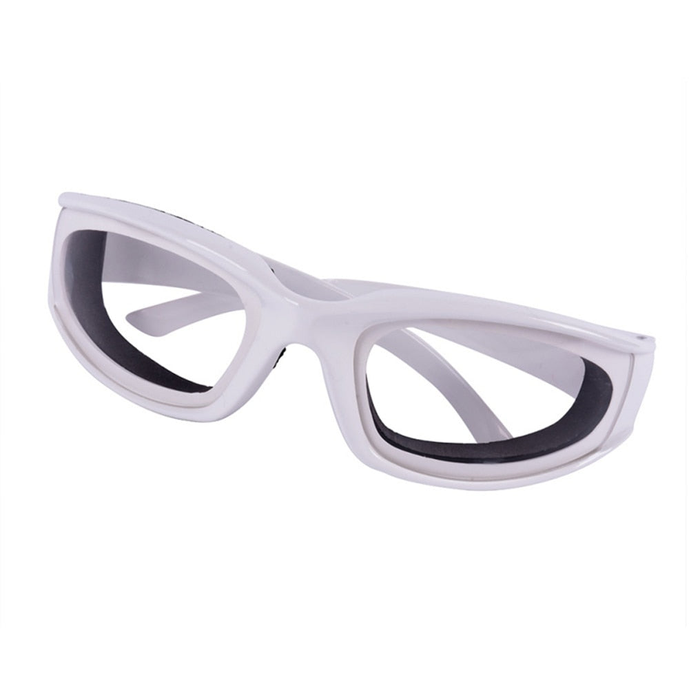 Onion Goggles Tear Free Slicing Cutting Chopping Mincing Eye Protect Glasses Kitchen Accessories - JustgreenBox