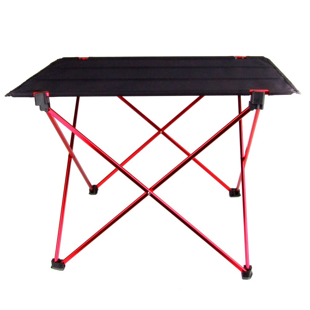 Portable Foldable Folding Table Desk Camping Outdoor Picnic 6061 Aluminium Alloy Ultra-light (Multi) - JustgreenBox