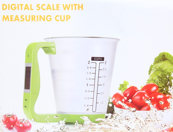 Digital Measuring Cup Scale - JustgreenBox