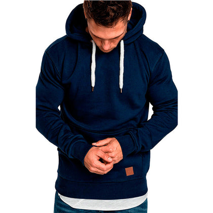 Mens Sweatshirt Long Sleeve Autumn Spring Casual Hoodies Top Boy Blouse Tracksuits Sweatshirts Hoodies Men