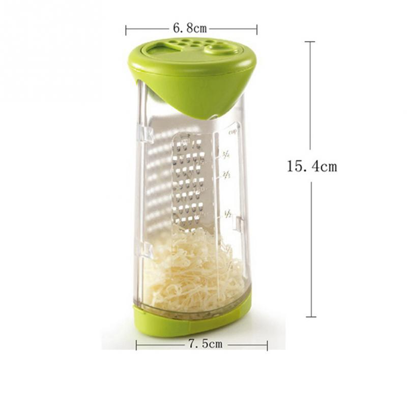 Stainless Cheese Grater Butter Mincer Grinder Baby Food Supplement Mill Fruits Vegetable Shredder Slicer Kitchen Tool - JustgreenBox