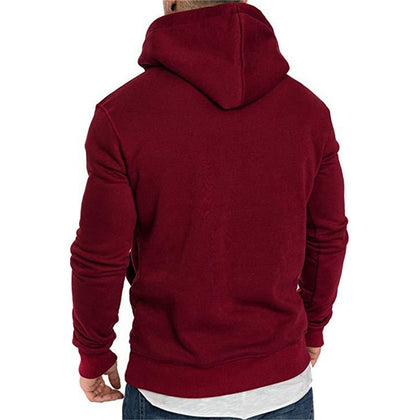 Mens Sweatshirt Long Sleeve Autumn Spring Casual Hoodies - JustgreenBox