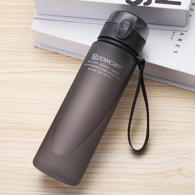 Water Bottle Plastic Drinkware Tour Outdoor Sport School Leak Proof Seal Gourde Climbing - JustgreenBox
