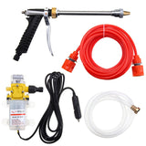 High Pressure Car Electric Washer Wash Pump Set Portable Auto Washing Machine Kit With USB Charger