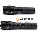8000LM Powerful Waterproof LED Portable Camping Lamp Torch Lights Lanternas Self Defense Tactical Flashlight - JustgreenBox