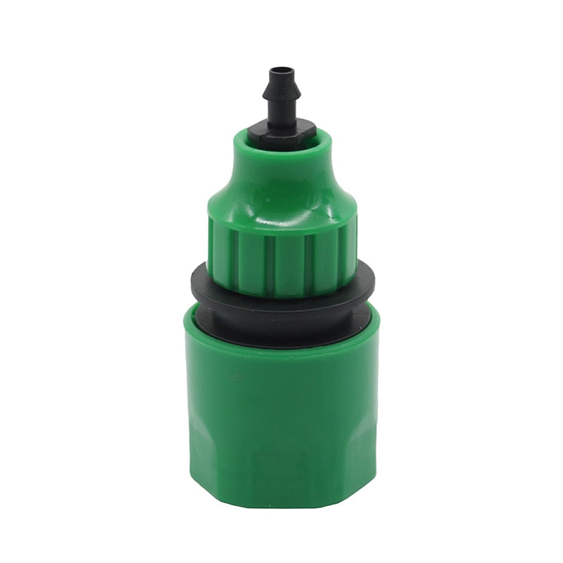 1 Pc Garden Water Quick Coupling 1/4 Inch Hose Connectors Pipe Homebrew Watering Tubing Fitting (Black 1/4'') - JustgreenBox