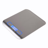Electronic Kitchen Scale Digital Food Stainless Steel Weighing LCD High Precision Measuring Tools - JustgreenBox