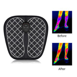 Foot Muscle Stimulator Wireless Low-Frequency Feet Physiotherapy ABS Massage Mat - JustgreenBox