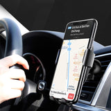 Car Mount Qi Wireless Charger Phone Holder In Car Air Vent For iPhone XS Max X XR 8 Fast Charging Dock - JustgreenBox