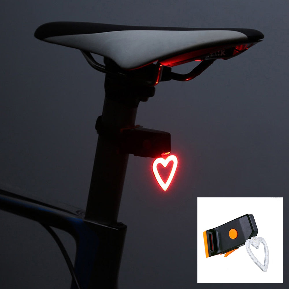 Taillight Modes Bicycle USB Charge Led Flash Strobe - JustgreenBox