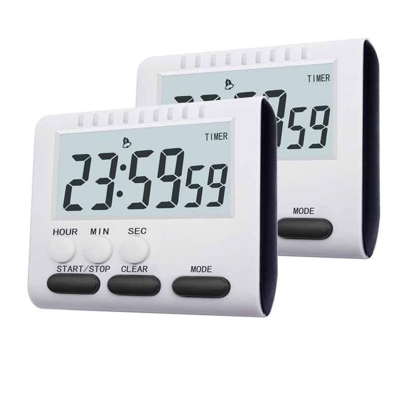 Multifunctional Kitchen Timer Alarm Clock Home Cooking Practical Supplies Cook Food Tools Accessories - JustgreenBox