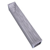 BBQ Stainless Steel Perforated Mesh Smoker Tube Filter Gadget Hot Cold Smoking - JustgreenBox